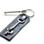 Skeleton Key Keychain