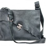 Rustic Leather Messenger