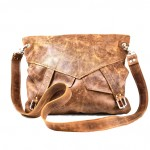 Slouchy Leather Messenger