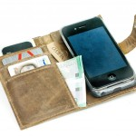 iPhone 5s Case - Leather iPhone 5S Wallet - Book Phone Case