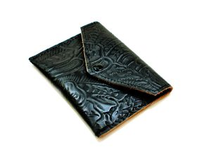 Black Envelope Wallet