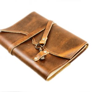 Cognac Tan Leather Journal