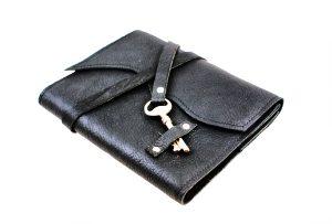 Skeleton Key Leather Journal
