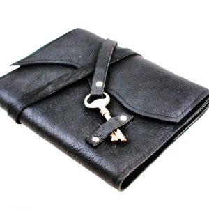 Skeleton Key Leather Journal