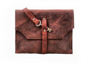 Mayfair Leather Clutch