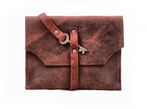 Mayfair Leather Clutch