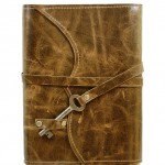 Green Leather Journal