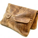 Seville Leather Clutch