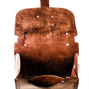 Rustic Leather Camera Bag