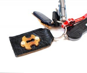 Keyhole Keychain