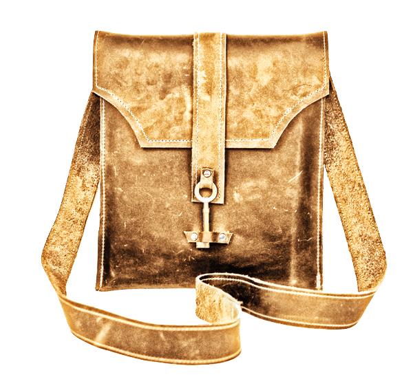 5406972790 Ayre Leather Messenger Bag