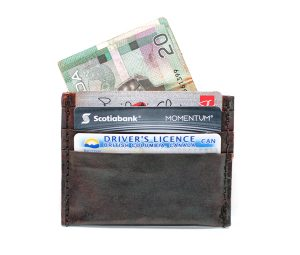 Skinny Leather Card Wallet