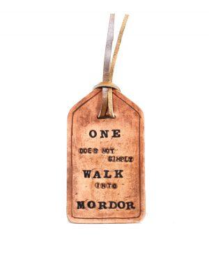 LOTR Leather Bookmark
