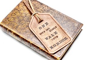 Tolkien Bookmark by Divina Denuevo