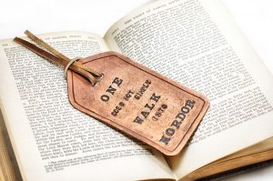 Tolkien Leather Fob