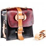 Eco Friendly Leather Camera Bag by Divina Denuevo