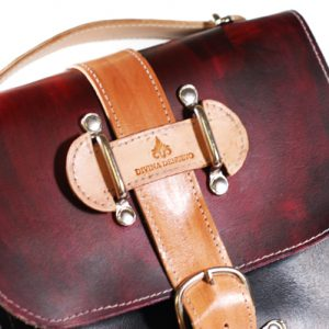 Vegetable Tanned Leather Camera Bag