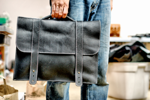 Handmade Leather Men's Satchel