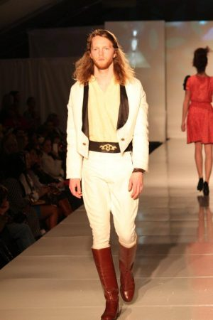 Leather Belt at Eco Fashion Week with Prophetik