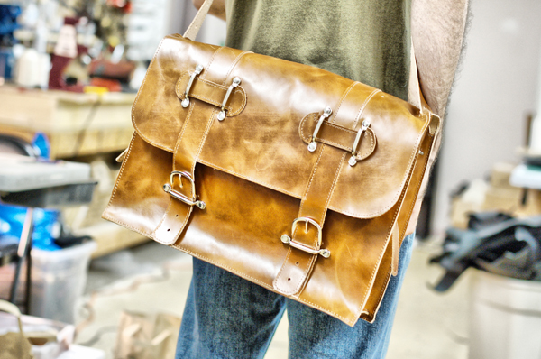 Large Leather Briefcase
