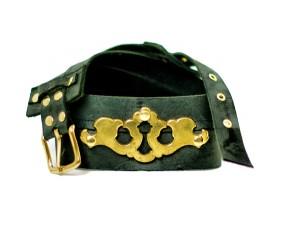 Steampunk Belt with Vintage Hardware
