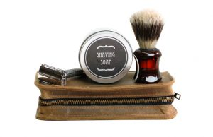 Leather Shaving Kit