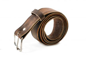 Vancouver Men's Leather Belt
