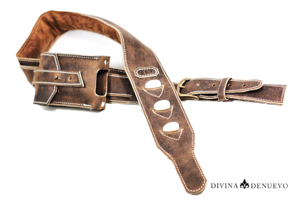 Leather Guitar Strap Vancouver