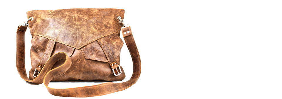Seville Slouchy Leather Messenger Bag