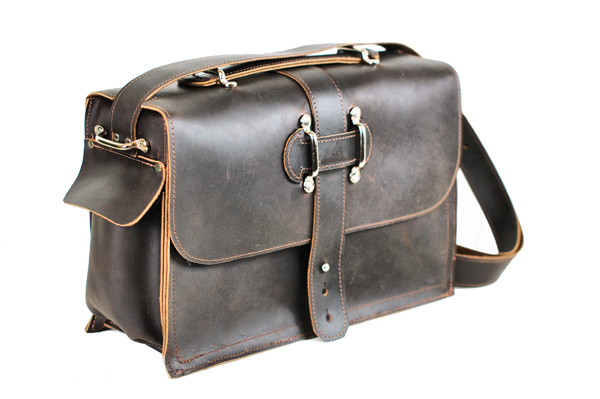 Indiana Jones Leather Satchel