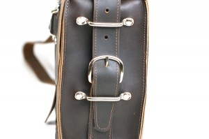 Custom Leather Satchel