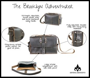 Brooklyn Leather Briefcase Features