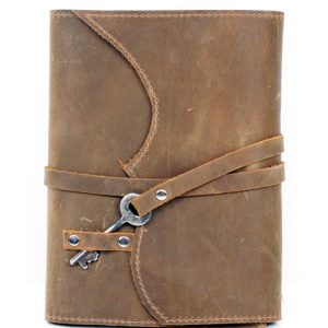Light Brown Leather Journal