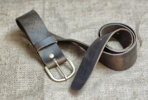 Plain Mens Leather Belt