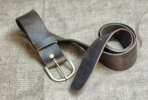 Plain Mens Leather Belt
