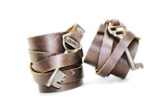 His & Hers Leather Cuff