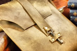 Tan Brown Leather iPad Case