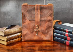 Small Leather Satchel