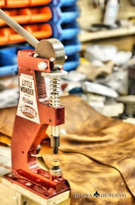 Leather Rivet Press