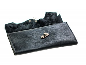 Steampunk Leather Wallet