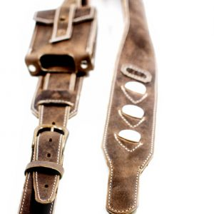 Padded Leather Guitar Strap