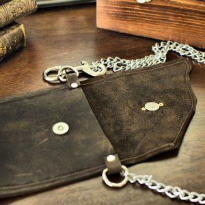Leather Pocket Belt