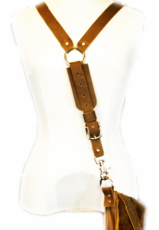 Leather Harness Strap