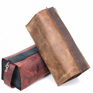 Leather Toiletry Bag Groomsmen Gifts