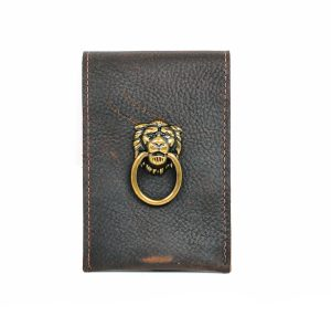 Lion Leather Wallet