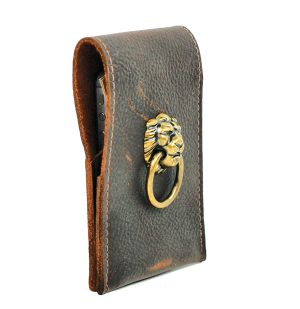 Antique Hardware Leather Wallet