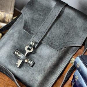Steampunk Leather Bag