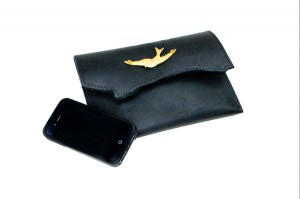 Swallow Leather Purse