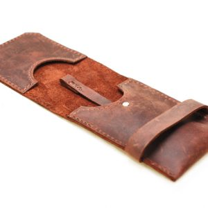 distressed Leather Phone Case