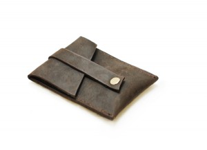 Pop Up Leather Card Wallet